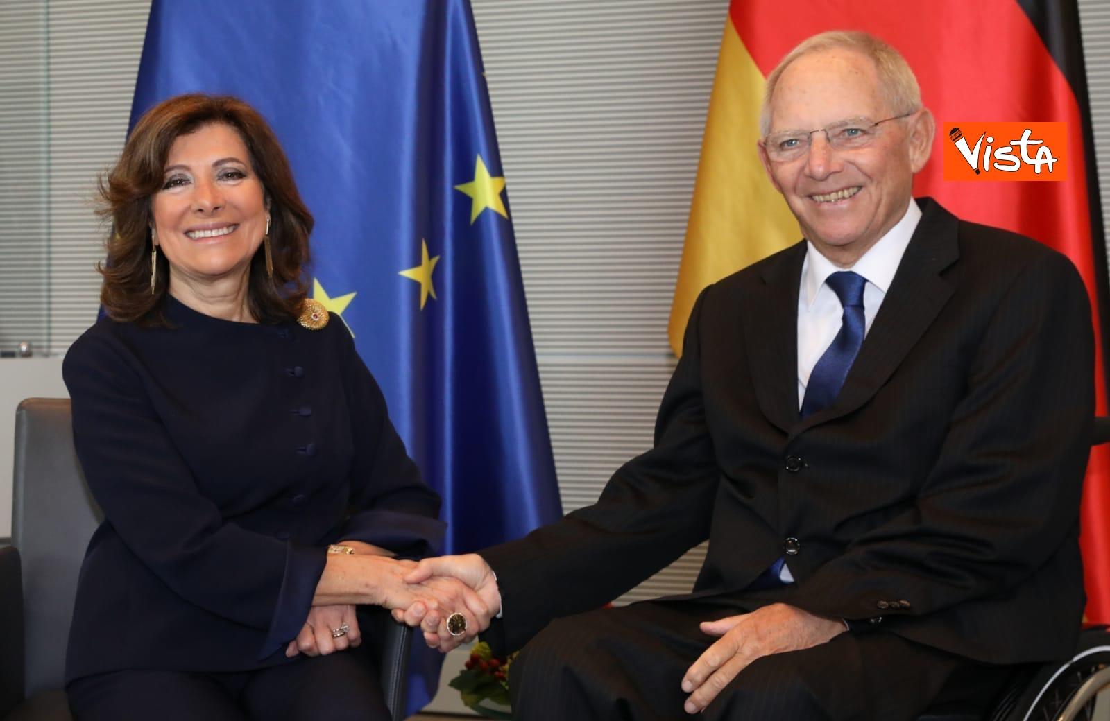 Casellati incontra il presidente del Bundestag Schauble a Berlino_04