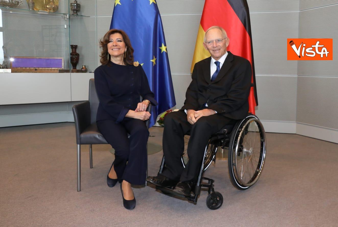 Casellati incontra il presidente del Bundestag Schauble a Berlino_02