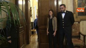 1 - Cottarelli ricevuto dalla Casellati a Palazzo Madama