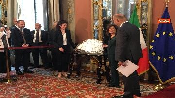 12 - Cerimonia del Ventaglio al Senato con Casellati immagini
