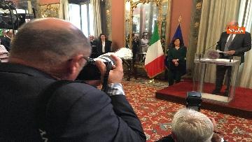 5 - Cerimonia del Ventaglio al Senato con Casellati immagini