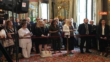 6 - Cerimonia del Ventaglio al Senato con Casellati immagini