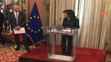8 - Cerimonia del Ventaglio al Senato con Casellati immagini