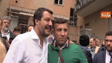 2 - Il ministro Salvini all'inaugurazione della sede della Lega a Bergamo