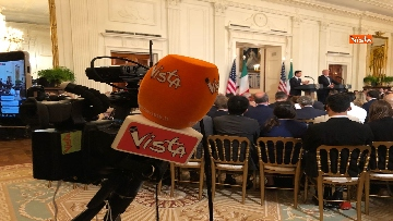 2 - Trump e Conte in conferenza stampa alla Casa Bianca