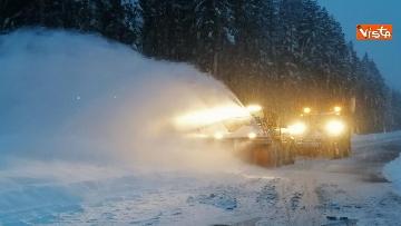 3 - Maltempo ed emergenza neve Anas in azione per garantire la viabilita
