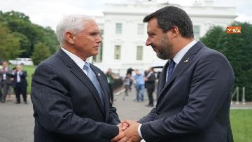 1 - Salvini incontra Mike Pence