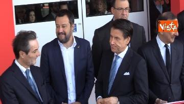 6 - Il presidente Conte e il ministro Salvini aprono la 58esima edizione del Salone del Mobile