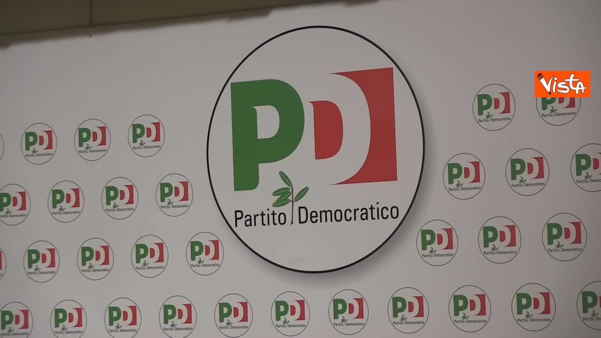 La notte elettorale nella sede PD