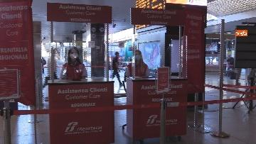 9 - Fase 2 alla Stazione Termini di Roma tra percorsi differenziati e sedute distanziate