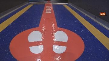 2 - Fase 2 alla Stazione Termini di Roma tra percorsi differenziati e sedute distanziate