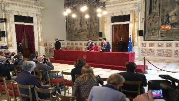 5 - Emma Bonino incontra la stampa dopo il colloquio con Giuseppe Conte