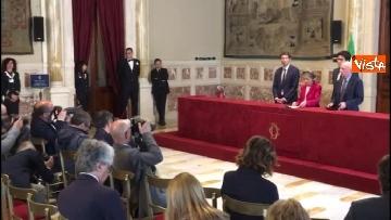 3 - Emma Bonino incontra la stampa dopo il colloquio con Giuseppe Conte