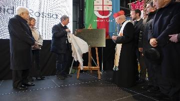 3 - Mattarella a Cornigliano alla commemorazione per i 40 anni da omicidio Guido Rossa