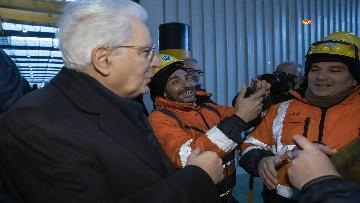 4 - Mattarella a Cornigliano alla commemorazione per i 40 anni da omicidio Guido Rossa