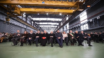 2 - Mattarella a Cornigliano alla commemorazione per i 40 anni da omicidio Guido Rossa
