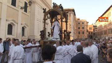 17 - Canti e preghiere alla Festa de Noantri a Trastevere, le immagini della processione