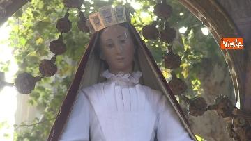 6 - Canti e preghiere alla Festa de Noantri a Trastevere, le immagini della processione