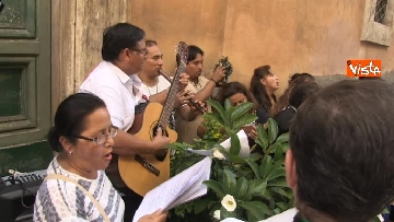 11 - Canti e preghiere alla Festa de Noantri a Trastevere, le immagini della processione
