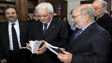 1 - Mattarella a Istituto Sturzo partecipa a tavola rotonda
