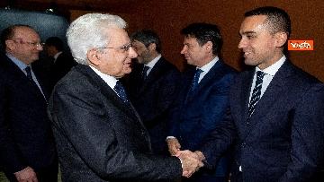 1 - Mattarella, Conte, Casellati e Fico ad Assemblea Confindustria