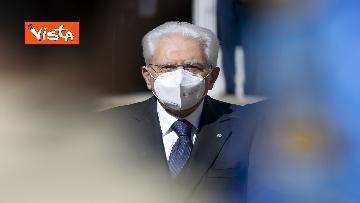 1 - Mattarella riceve la Presidente della Repubblica Ellenica Sakellaropoulou, le immagini