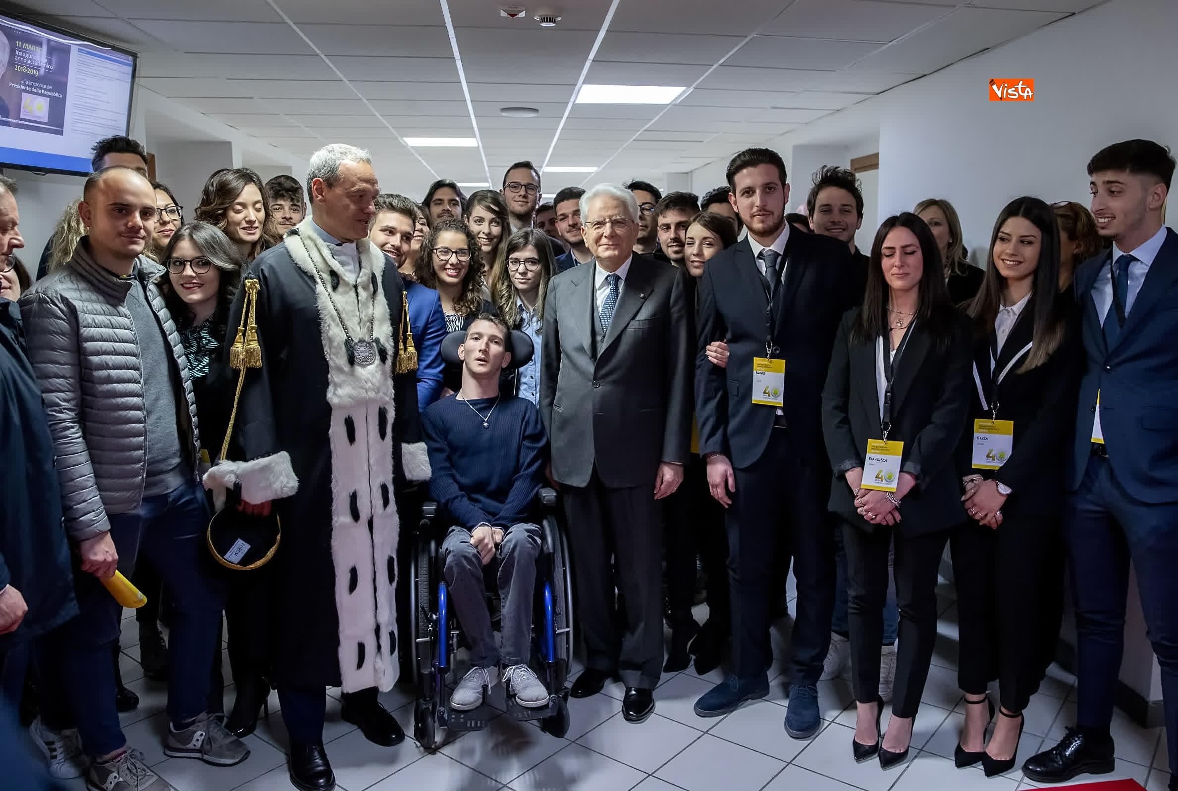 11-03-19 Mattarella alla cerimonia di inaugurazione dell Anno Accademico dell Universita di Cassino_10