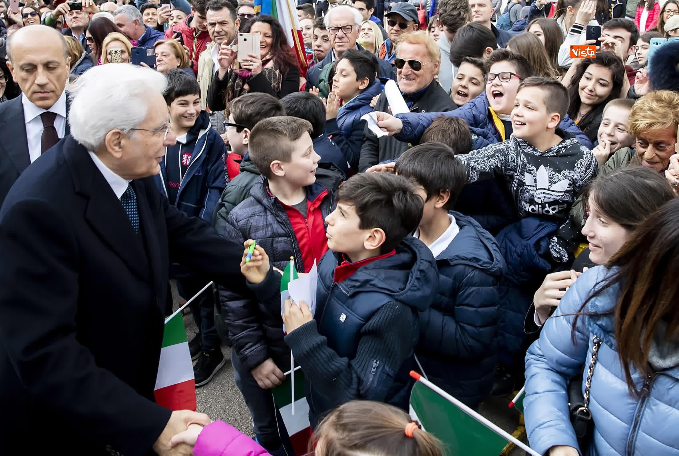 11-03-19 Mattarella alla cerimonia di inaugurazione dell Anno Accademico dell Universita di Cassino_19