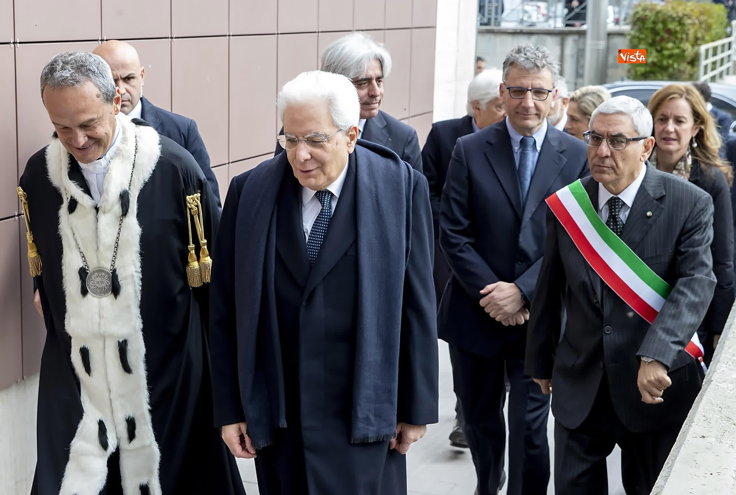 11-03-19 Mattarella alla cerimonia di inaugurazione dell Anno Accademico dell Universita di Cassino_02