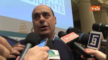 10 - Zingaretti vince alla Regione Lazio, la prima conferenza stampa dopo la riconferma