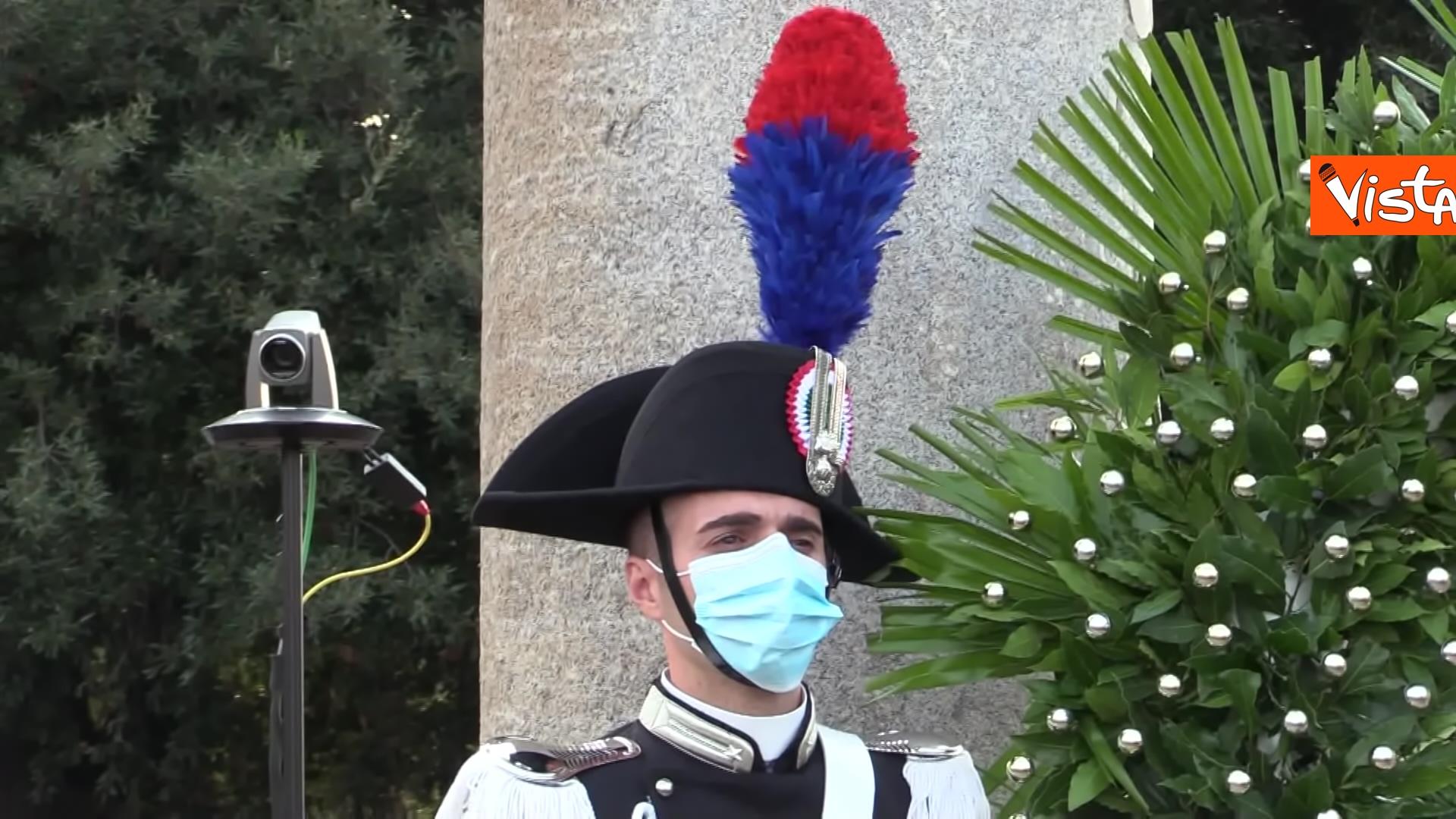11-09-21 Attentati dell11 settembre Di Maio e Raggi alla cerimonia per i 20 anni a Roma Le immagini_04