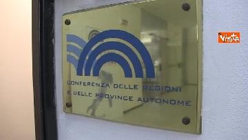 1 - Ministro Affari Regionali Stefani al primo incontro con la Conferenza Regioni immagini