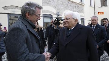 1 - Mattarella all'inaugurazione dell'Anno Accademico 2019-2020 dell'Universita del Sannio