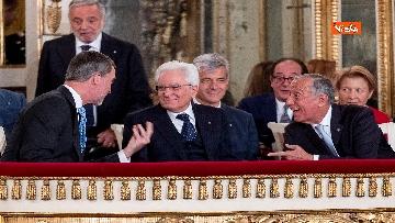 2 - Il presidente della Repubblica Sergio Mattarella a Napoli