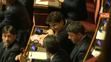 11 - Napolitano apre la prima seduta del Senato