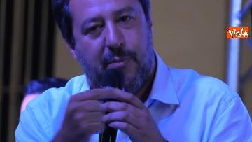 5 - Il comizio del ministro dell'Interno Matteo Salvini a Torino