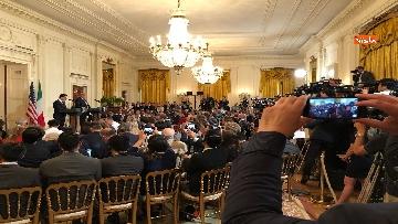 5 - Trump e Conte in conferenza stampa alla Casa Bianca
