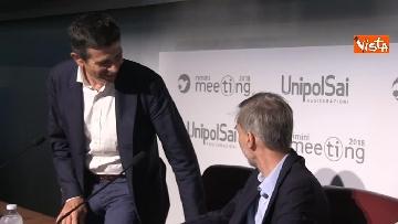 7 - Giorgetti e Delrio al meeting di Rimini