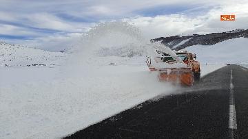 4 - Maltempo ed emergenza neve Anas in azione per garantire la viabilita