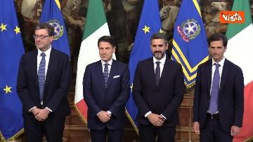 5 - La cerimonia della campanella del Presidente del Consiglio Giuseppe Conte