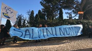 1 - Matteo Salvini in Toscana per la consegna di un bene confiscato alla mafia