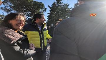 8 - Matteo Salvini in Toscana per la consegna di un bene confiscato alla mafia