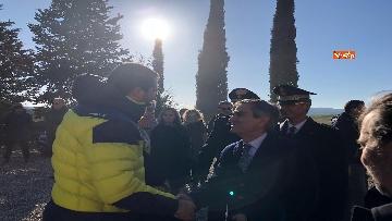 5 - Matteo Salvini in Toscana per la consegna di un bene confiscato alla mafia