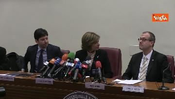 2 - La conferenza stampa di Speranza con la Commissione UE e l'OMS