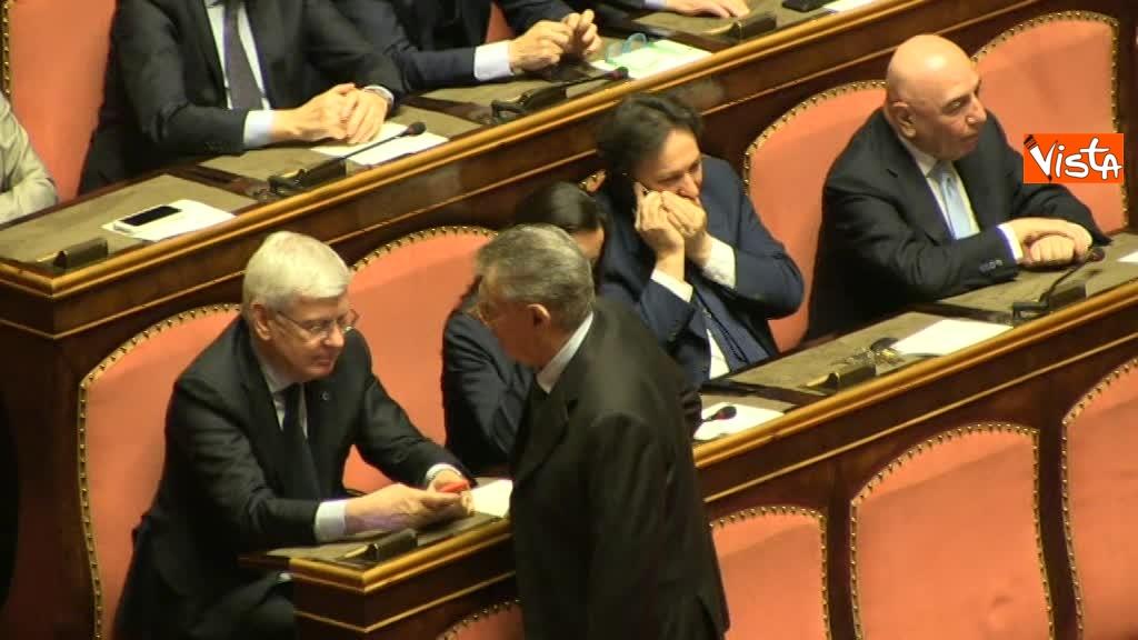 Paolo Romani, Umberto Bossi, Adriano Galliani