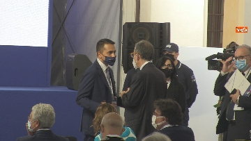7 - Conte, Di Maio e Casellati alla presentazione del Libro Blu all'Agenzia Dogane. Le foto