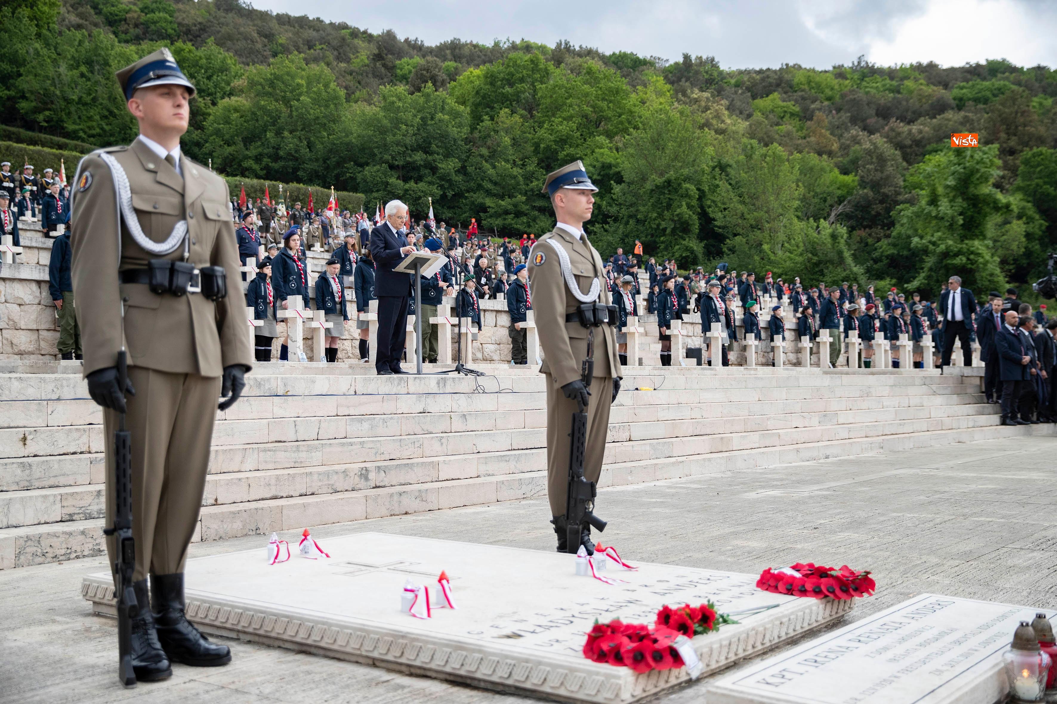 anniversario della battaglia di Montecassino.