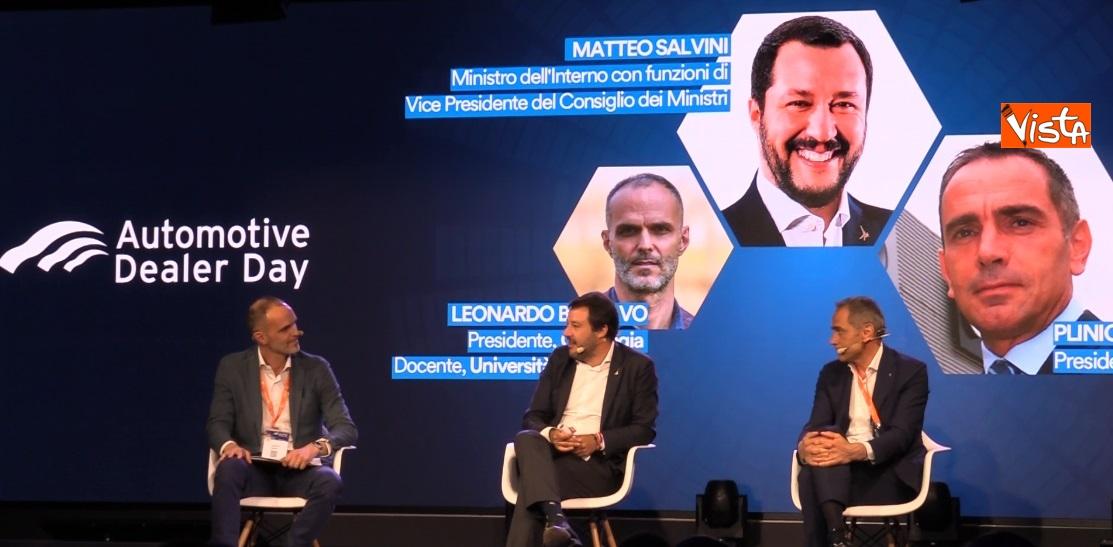 Salvini interviene all'Automotive Dealer Day