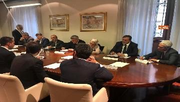 7 - Sindacati incontrano Di Maio al ministero dell'Economia