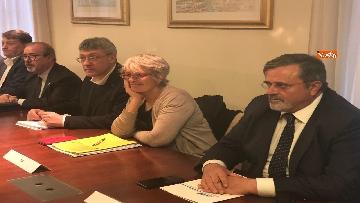 5 - Sindacati incontrano Di Maio al ministero dell'Economia
